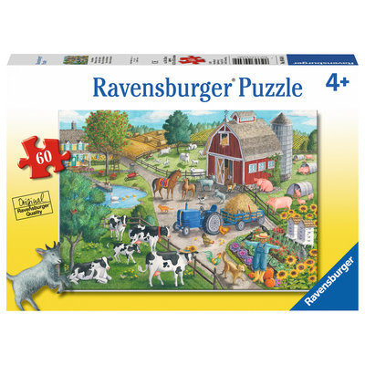 RAVENSBURGER USA HOME ON THE RANGE 60 PC PUZZLE