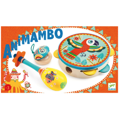 DJECO ANIMAMBO SET OF 3 INSTRUMENTS
