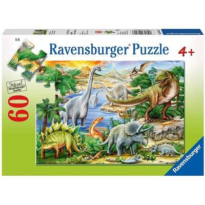 RAVENSBURGER USA PREHISTORIC LIFE 60 PC PUZZLE