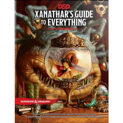 WIZARDS OF THE COAST D & D: XANATHARS GUIDE TO EVERYTHING