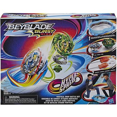 HASBRO BEYBLADE BURST RISE HYPERSPHERE VERTICAL DROP BATTLE SET