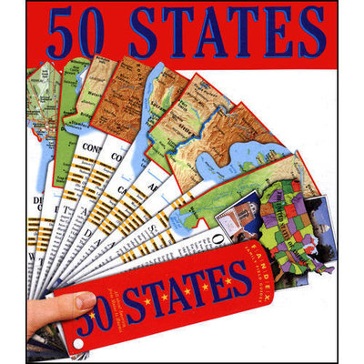 WORKMAN PUBLISHING 50 STATES FANDEX CRAUGHWELL
