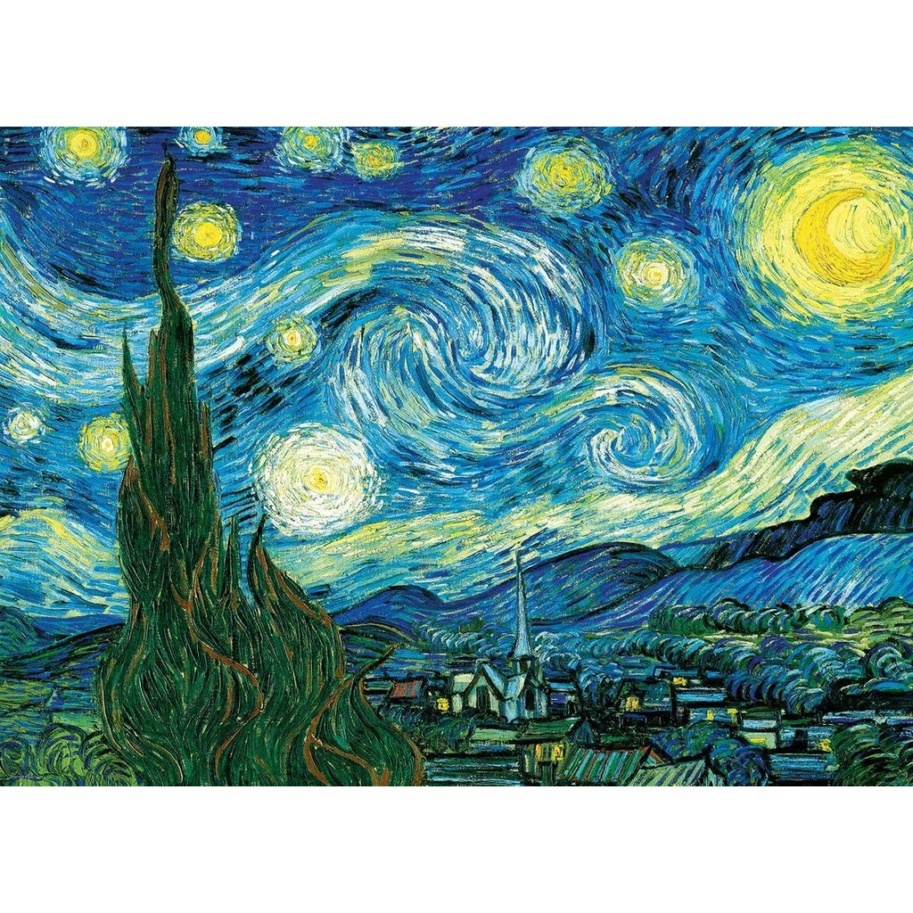 EUROGRAPHICS STARRY NIGHT 100 PIECE