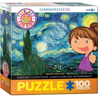 EUROGRAPHICS STARRY NIGHT 100 PC PUZZLE
