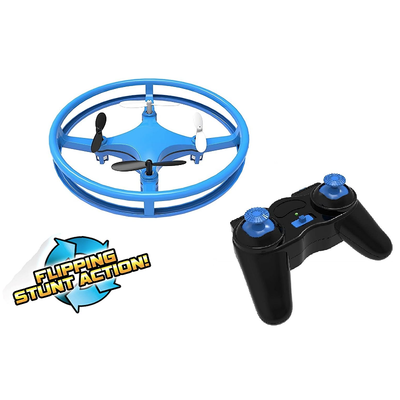 MINDSCOPE SKY LIGHTER DISC DRONE BLUE