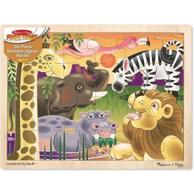 MELISSA AND DOUG AFRICAN PLAINS 24 PC PUZZLE