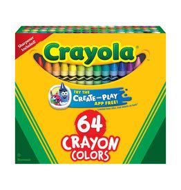 CRAYOLA CRAYOLA CRAYONS 64 COUNT