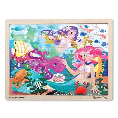 MELISSA AND DOUG MERMAID FANTASEA 48 PIECE