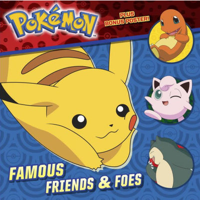 RANDOM HOUSE POKEMON FAMOUS FRIENDS & FOES PB