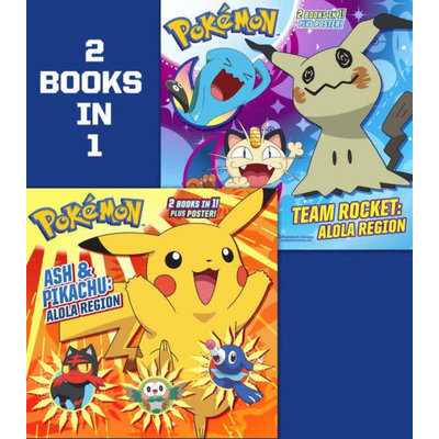 RANDOM HOUSE POKEMON ASH & PIKACHU TEAM ROCKET PB
