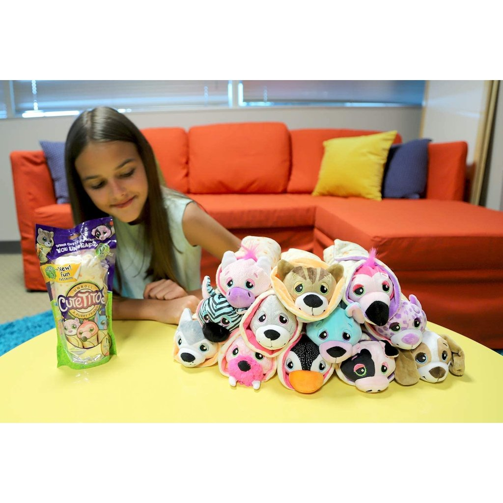 Cutetitos The Toy Store Each cutetito is scented with the scent that packaged in a mystery bag, cutetitos are 19cm fruit scented stuffed animals wrapped in a soft, plush. schylling associates cutetitos