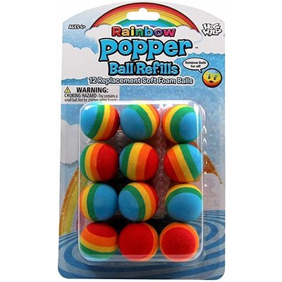HOG WILD POWER POPPER REFILLS RAINBOW