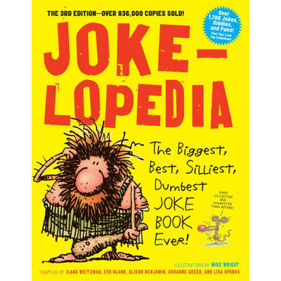 WORKMAN PUBLISHING JOKELOPEDIA JOKE BOOK PB WEITZMAN