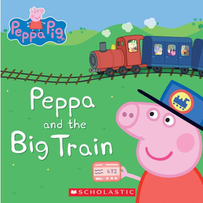 SCHOLASTIC PEPPA AND THE BIG TRAIN