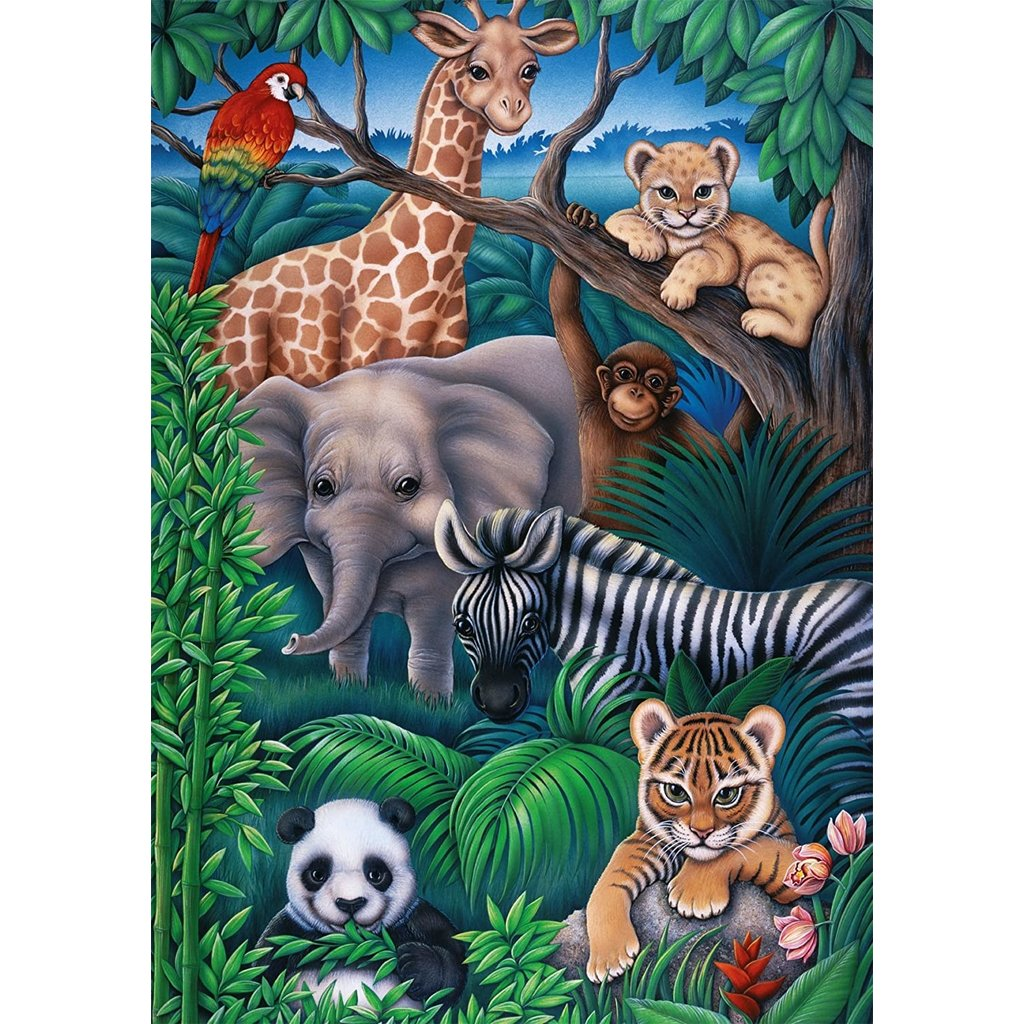 RAVENSBURGER USA ANIMAL KINGDOM 35 PIECE