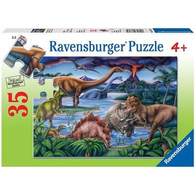RAVENSBURGER USA DINOSAUR PLAYGROUND 35 PIECE