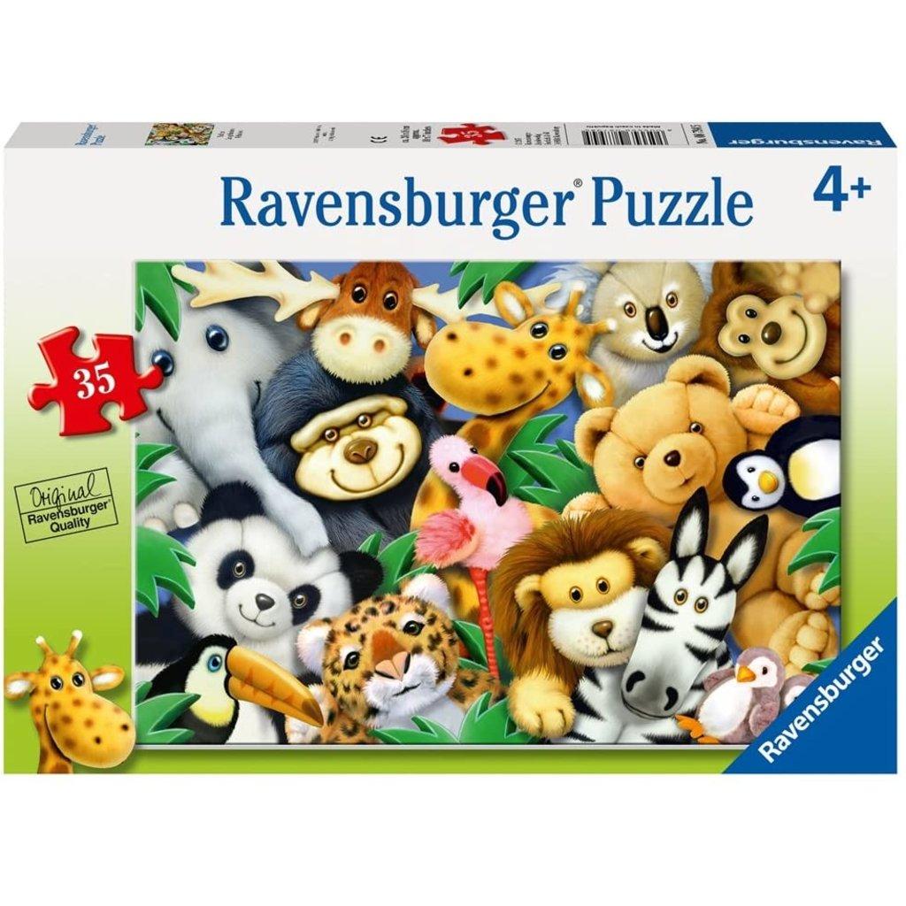 RAVENSBURGER USA SOFTIES 35 PIECE PUZZLE