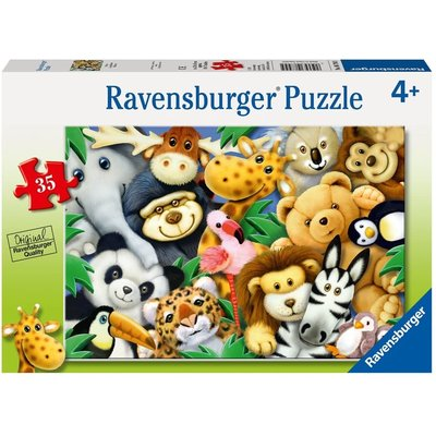 RAVENSBURGER USA SOFTIES 35 PIECE PUZZLE