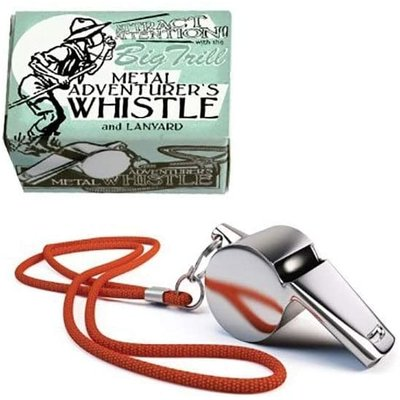 HOUSE OF MARBLES ADVENTURERS WHISTLE