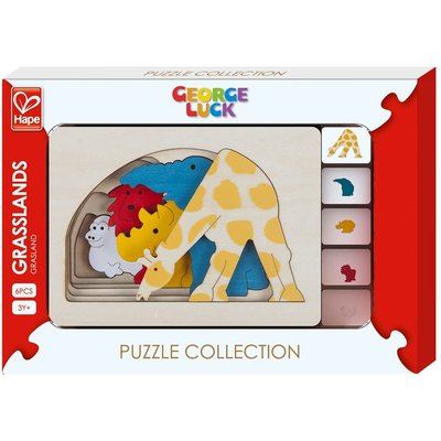 HAPE LAYER PUZZLE GRASSLANDS