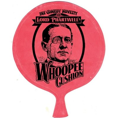 HOUSE OF MARBLES LORD PHARTWELLS WHOOPEE CUSHION**