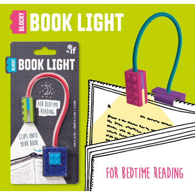 IF BLOCKY BOOK LIGHT
