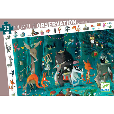DJECO OBSERVATION PUZZLE ORCHESTRA