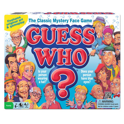 WINNING MOVES CLASSIC GUESS WHO