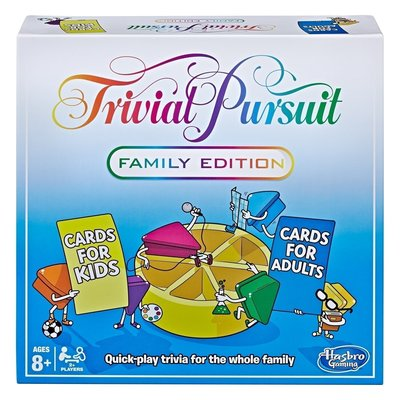 HASBRO TRIVIAL PURSUIT FAMILY