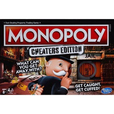 HASBRO MONOPOLY CHEATERS GAME*