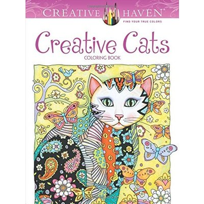 DOVER PUBLICATIONS CREATIVE HAVEN COLORING