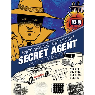 DOVER PUBLICATIONS SECRET AGENT ACTIVITY BOOK