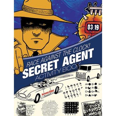DOVER PUBLICATIONS SECRET AGENT ACTIVITY BOOK