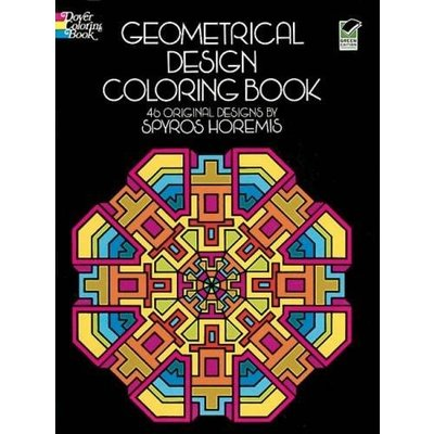 DOVER PUBLICATIONS GEOMETRIC DESIGN COLORING