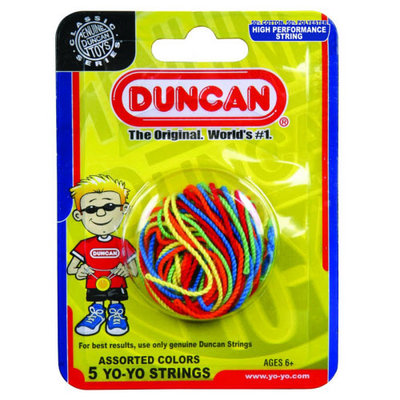 DUNCAN TOYS MULTI COLOR YO YO STRINGS