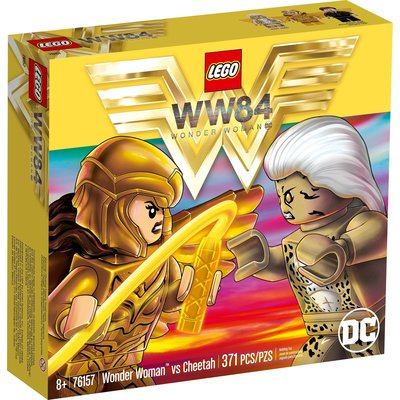 LEGO WONDER WOMAN VS CHEETAH