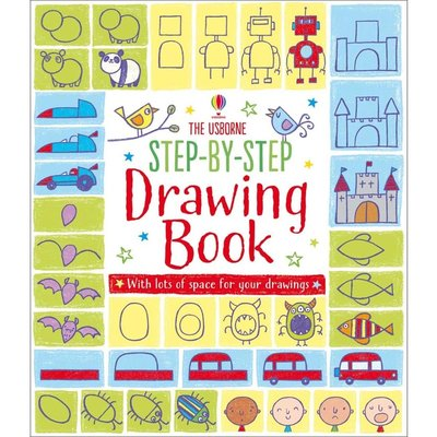 EDC PUBLISHING STEP BY STEP DRAWING BOOK
