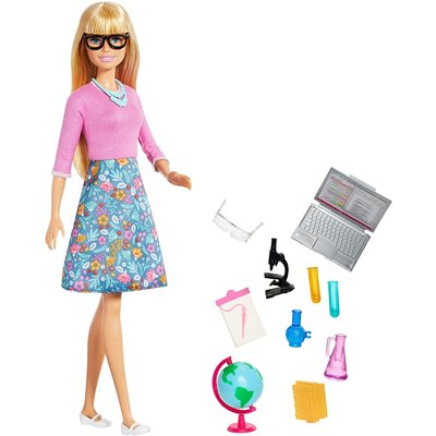 MATTEL BARBIE TEACHER BLONDE