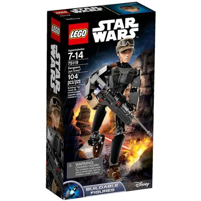 LEGO STAR WARS CONSTRACTION SERGEANT JYN ERSO
