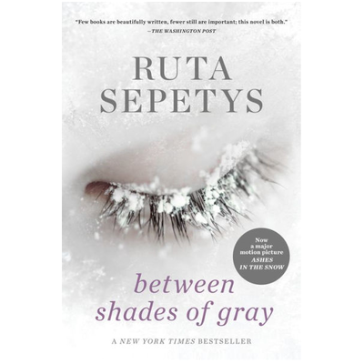PENGUIN BETWEEN SHADES OF GRAY PB SEPETYS