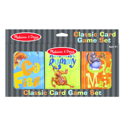 MELISSA AND DOUG CLASSIC CARD GAME SET