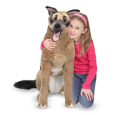 MELISSA AND DOUG GERMAN SHEPHERD LARGE