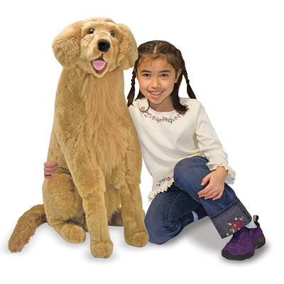 MELISSA AND DOUG GOLDEN RETRIEVER LARGE