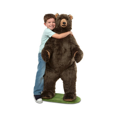 MELISSA AND DOUG LARGE GRIZZLY BEAR