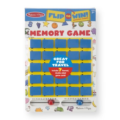 MELISSA AND DOUG MEMORY GAME FLIP TO WIN