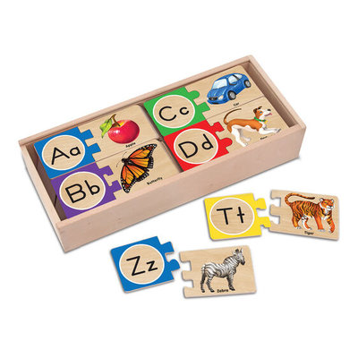 MELISSA AND DOUG ALPHA SELF CORRECTING PUZZLE