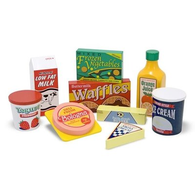 MELISSA AND DOUG FRIDGE FOOD*