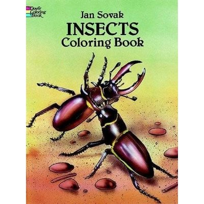 DOVER PUBLICATIONS ANIMAL COLORING BOOKS INSECTS