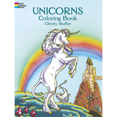 DOVER PUBLICATIONS ANIMAL COLORING BOOKS UNICORNS