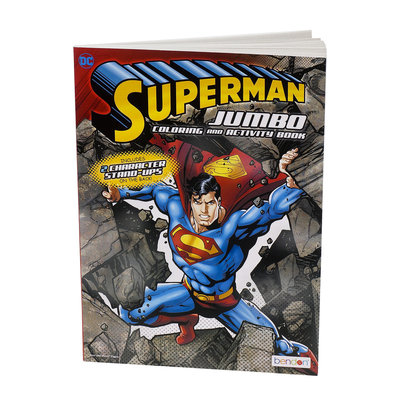 MASTER TOY HERO INSPIRED COLORING BOOKS SUPERMAN